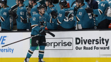 Sharks beat Wild 4-2 for 2-sport series sweep
