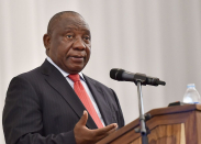 When did Cyril Ramaphosa last take questions from the media?