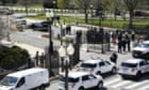 US Capitol lockdown: one officer and suspect dead after car rams into barrier