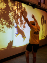 Interactive kelpie guides young visitors through revamped Stockman's Hall of Popularity in outback Qld