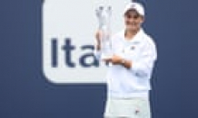 Barty beats injured Andreescu to claim Miami Launch title for second time