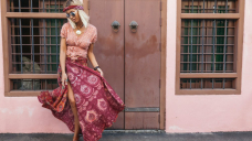This Magnificent Wrap Maxi Skirt Is a Boho-Sublime Dream