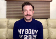 OMG! Jason Sudeikis Wears $1,100 Social Justice Sweater to the SAGs