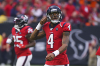 Hold the Texans missed their chance to trade QB Deshaun Watson?