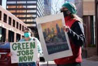 Biden's Jobs Plan Is Also a Climate Plan. Will It Make a Distinction?