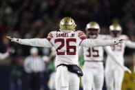 Asante Samuel Jr. is a popular pick for the Saints in latest NFL mock drafts