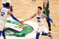 Doc Rivers praises Sixers for defensive effort in road win over Celtics