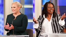 Meghan McCain & Whoopi Goldberg Bond Over Our bodies Changing After Babies & Breastfeeding On 'The Observe'