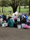'The Great Wall of Trash' : Pristine Otways campground turned into a stinking mess