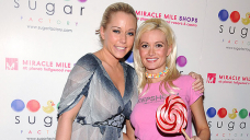 Kendra Wilkinson Claps Relief After Holly Madison Claims They're Feuding: 'I'm All Like Now'