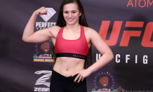 Erin Blanchfield recognizes size distinction, still expects finish at UFC on ABC 2