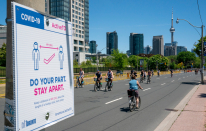 ActiveTO to return summer 2021 including Lake Shore Boulevard West route