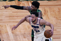 Dwight Howard explains Ben Simmons' growth on, off the floor for Sixers