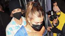 Hailey Baldwin Stuns In Gigantic Horny Plunging Corset In some unspecified time in the future of Romantic Night Out With Justin Bieber