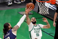 Celtics' Evan Fournier will not travel with team on West Cruise road trip