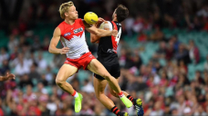 Franklin boots decisive goal in Swans win