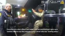Virginia cops pepper-sprayed Shaded and Latino Military officer who had hands raised during traffic end, video shows