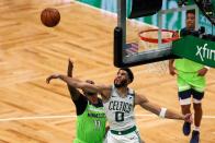 Boston's Marcus Neat, Brad Stevens talk Jayson Tatum's fifty three-point game