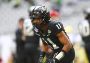 File: Iowa Disclose safety Lawrence White IV has met virtually with the Vikings