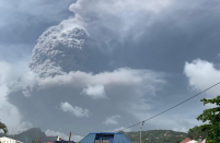 PAHO mobilizes to help Saint Vincent and the Grenadines respond to eruptions of Volcano La Soufriere