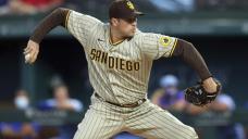 Padres' LHP Morejon leaves start vs Texas with injury