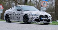 BMW M4 'CSL' Take a look at Mule Papped Having a seek Very Enraged