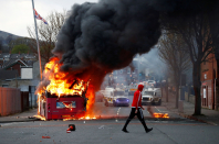 Violent riots have broken out in Northern Ireland — here's why