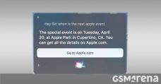Apple's next event is taking place on April 20, Siri reveals