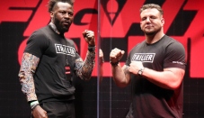 Frank Mir happy he ended up with Steve Cunningham in boxing debut, not a 'tomato can'
