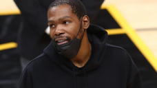 Kevin Durant was hilariously confused by 76ers fans chanting 'KD sucks' late in Philly's win