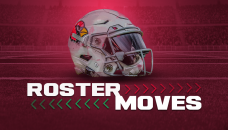Cardinals sign RB, WR, 3 others before draft