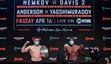 Twitter reacts to Vadim Nemkov's title defense against Phil Davis at Bellator 257