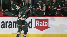 Bonino stays hot with purpose, assist as Wild defeat Sharks 3-2
