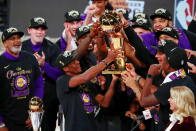 Los Angeles Lakers pass on making White Dwelling visit to celebrate 2020 NBA title