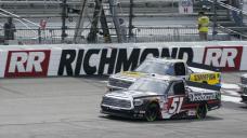 Nemechek outruns boss to win NASCAR truck race at Richmond