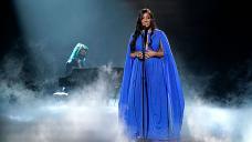 Mickey Guyton Appears to be like to be like Take care of A Goddess In Caped Gown Whereas Performing 'Withhold On' At 2021 ACMs