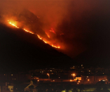 Cape Town fires: Several suburbs evacuated, arson suspect 'in custody'