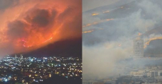 WATCH   Video timelapse of raging Cape Town fire spreading towards city