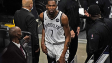 Nets' Durant ruled out for Tuesday with thigh contusion
