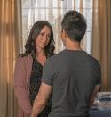 Jennifer Esteem Hewitt Broke Face Capillaries Filming '9-1-1' Labor Scene