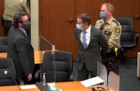 Derek Chauvin found guilty of 2d-stage unintentional murder