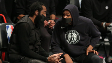 Nets' James Harden out 'indefinitely' after experiencing 'setback' while rehabbing right hamstring injury