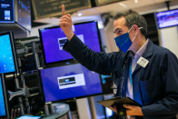 Dow rises 200 points as economic recovery plays rebound