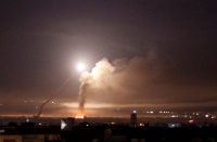 Israel strikes near Damascus after Syrian missile lands near Dimona nuclear reactor