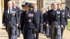 Royal Family Marks the Dwell of Mourning Length After Prince Philip's Death