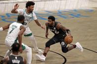 The Nets regain their East lead, beat Celtics 109-104
