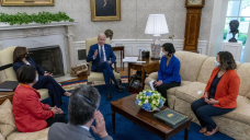 Chocolate chip diplomacy: Biden courts Congress with gusto