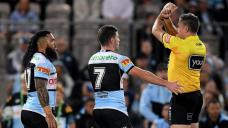 Shark hit for six for NRL shoulder charge
