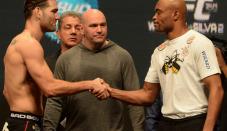 Anderson Silva sends heartfelt message to Chris Weidman after nasty UFC 261 leg break