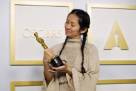 Chloe Zhao becomes second woman to win best director at Academy Awards